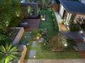 光色浑然天成的庭院 (5)
