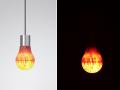 木制LED灯泡 (2)