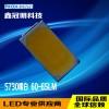 5730LED灯珠 金线铜支架 60-65LM 厂家批发