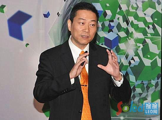 现任IBM大中华区北方区总裁何国伟
