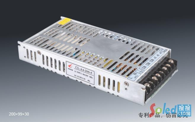 诚联电源 200W显示屏超薄电源 led电源