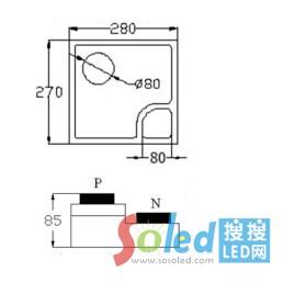 S14B-CC芯片 LED芯片 华灿光电