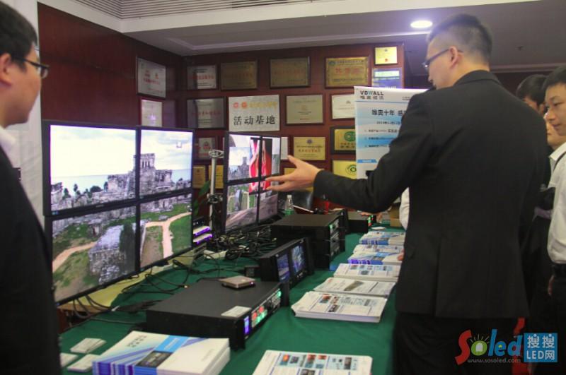 唯奥视讯展出多款重磅LED视频处理器产品
