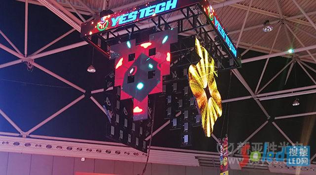 新亚胜 2018荷兰ISE展 吊装LED屏